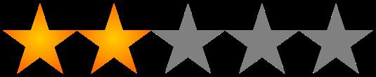 Resultado de imagen de puntuacion 2 estrellas
