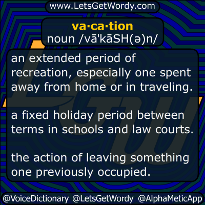 vacation 07/29/2015 GFX Definition