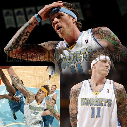 Celebrity Wallpaper: Birdman Denver Nuggets Tattoos