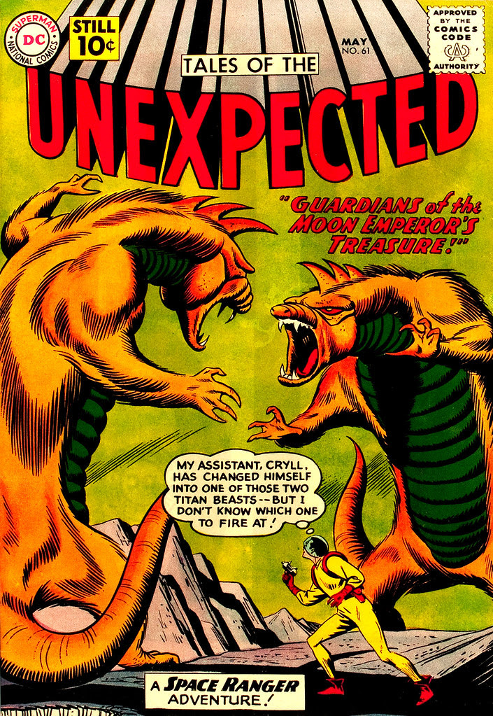 Tales of the Unexpected #61 (DC, 1963) Bob Brown cover