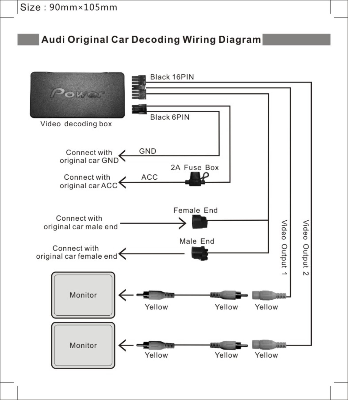 35 Car Dvd Player Wiring Diagram