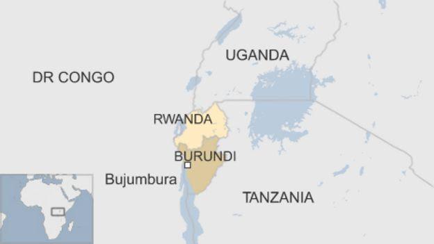 Resultado de imagen de bURUNDI, cia map