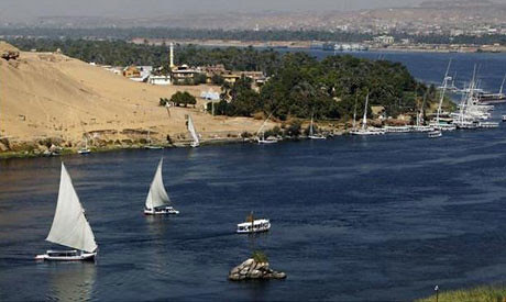 The Blue Nile, part of the Nile River, is the source of discussion on relations between Egypt and Ethiopia. Part of the waterway could be diverted in a damn project by Ethiopia. by Pan-African News Wire File Photos
