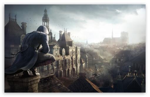 Assassins Creed Unity Arno Uhd Desktop Wallpaper For 4k
