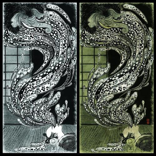 Baku (drawing and final) - Yuko Shimizu