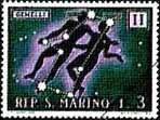 Earthlore Gemini: San Marino Stamp