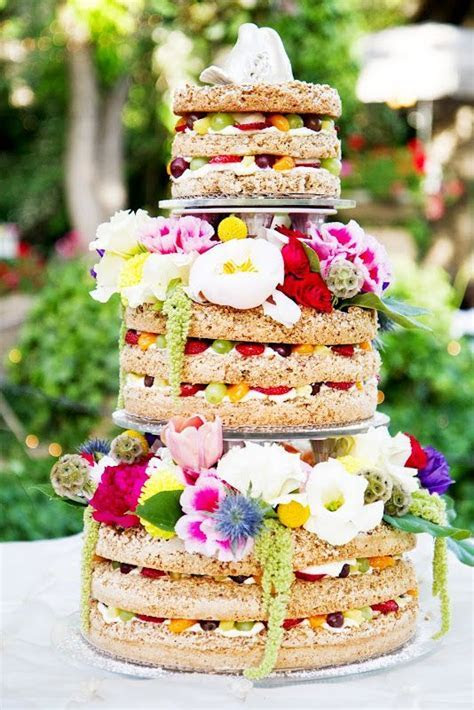 Wow   beautiful and unique wedding cake! By The Bungalow