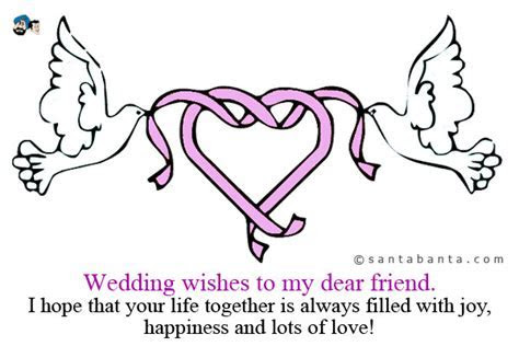 24 Delightful Wedding Wishes To Friend