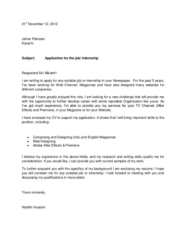 Sample Application Letter For Management Accounting Fresh Graduate on