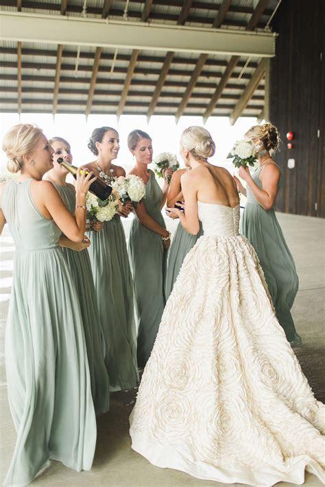 Green Bridesmaid Dresses   Wedding Ideas By Colour   CHWV