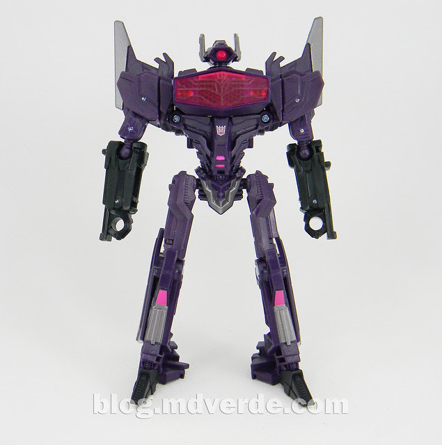 Transformers Shockwave Deluxe - Generations FoC - modo robot