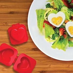 Eggspress - Heart Mould - Funky Kitchen Accessories: Amazon.co.uk