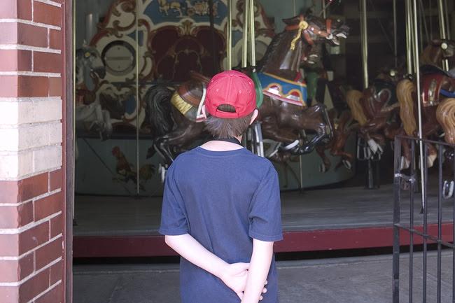 Carousel in Central Park