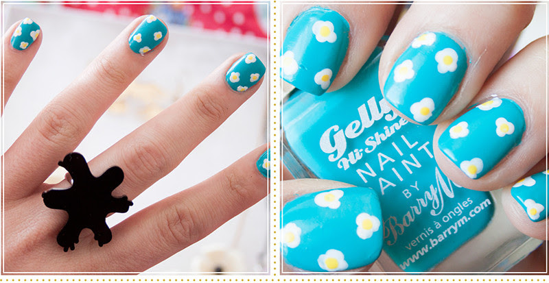Lily Melrose Uk Style And Fashion Blog Simple Daisy Nail Art