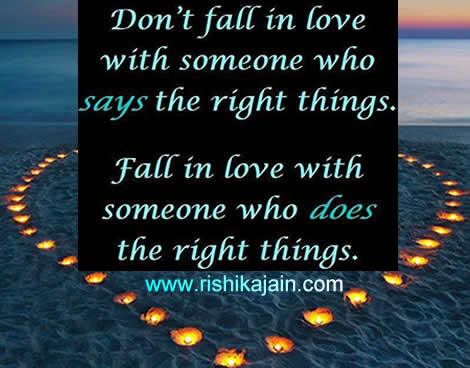Dont Fall In Love With Someone Inspirational Quotes Pictures