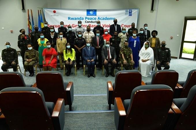 Abaturutse mu bihugu byo muri EASF bari kwigishwa uko bakumira ihohoterwa rishingiye ku gitsina #Rwanda #RwOT via @kigalitoday #rwanda #RwOT