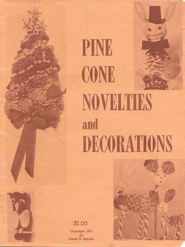 Pine Cone craft booklet, 1971