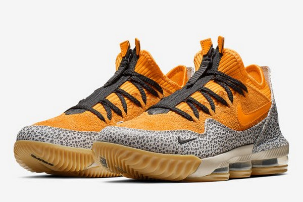 "5319850c0e4 The Nike LeBron 16 Low ""Safari"" Has Roots In 2003"