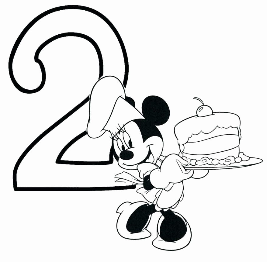 Happy Birthday Coloring Pages Disney at GetColorings.com ...