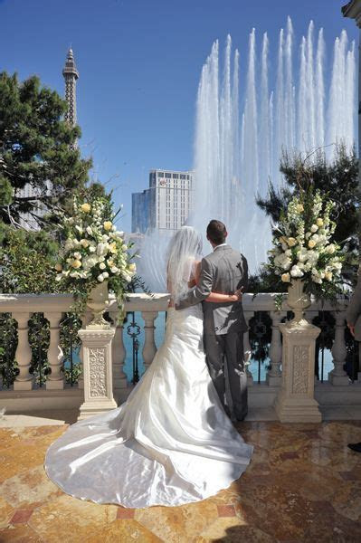 Terrazza @ Bellagio Our first kiss!   Our Wedding