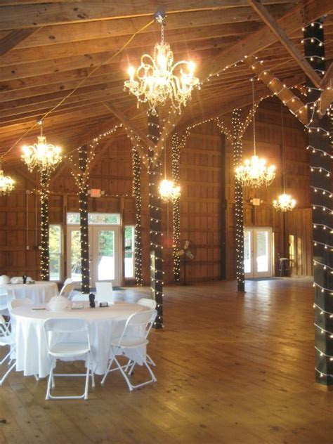 pretty elegant for a barn   Chandeliers   Crystal and