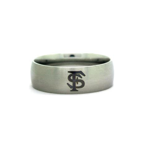Florida State Seminoles College Wedding Band   University