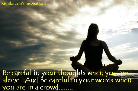Good Morning Friends Be Careful In Your Thought Daily
