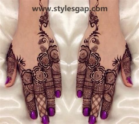 Latest & Fancy Pakistani Mehndi Designs & Trends 2018 2019