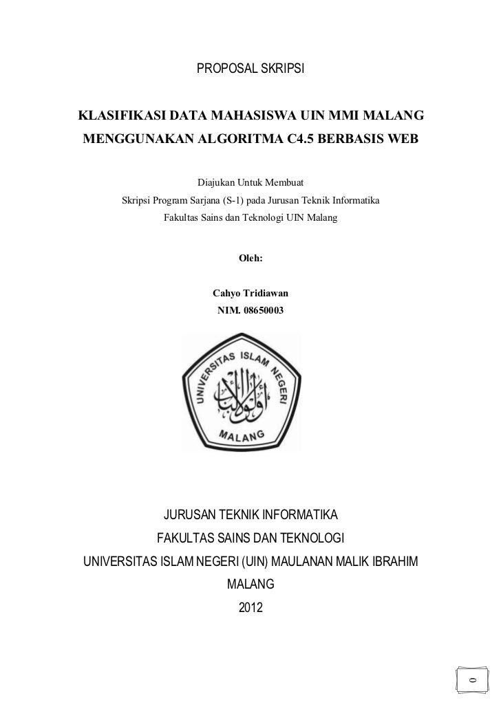Contoh Proposal Skripsi Pendidikan Kimia Pdf Kumpulan Berbagai Skripsi