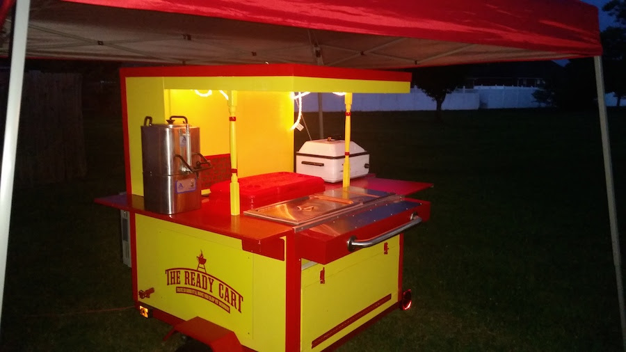 Add A Roof To Your Hot Dog Cart Hot Dog Cart