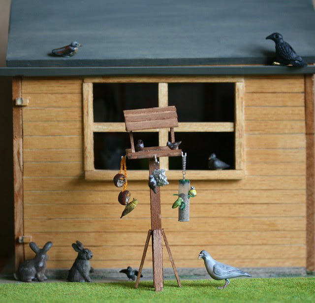 For 1/12th scale birdwatchers...