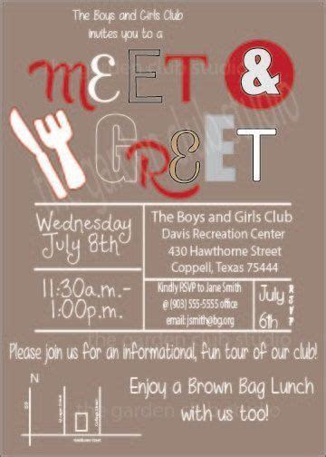 Meet and Greet Meet & Greet Organization Charity Volunteer