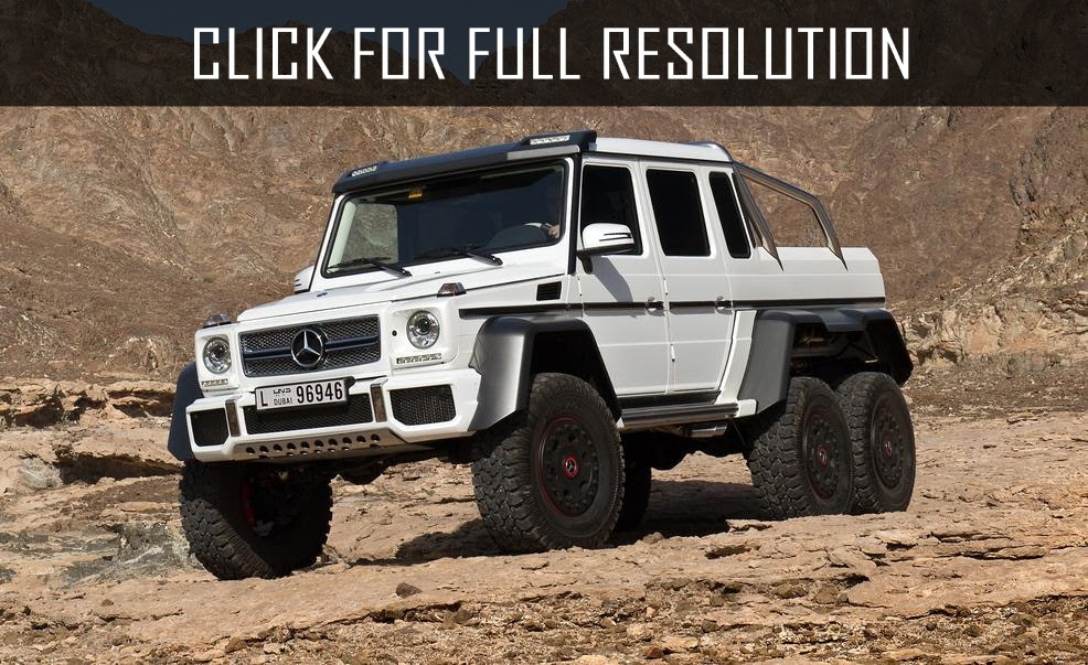 Mercedes Benz 6x6 Truck - amazing photo gallery, some information and specifications, as well as ...