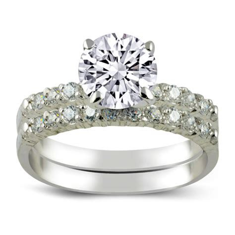 Sterling Silver Engagement Rings