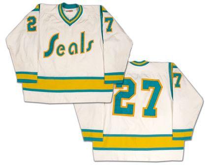 California Golden Seals Jersey