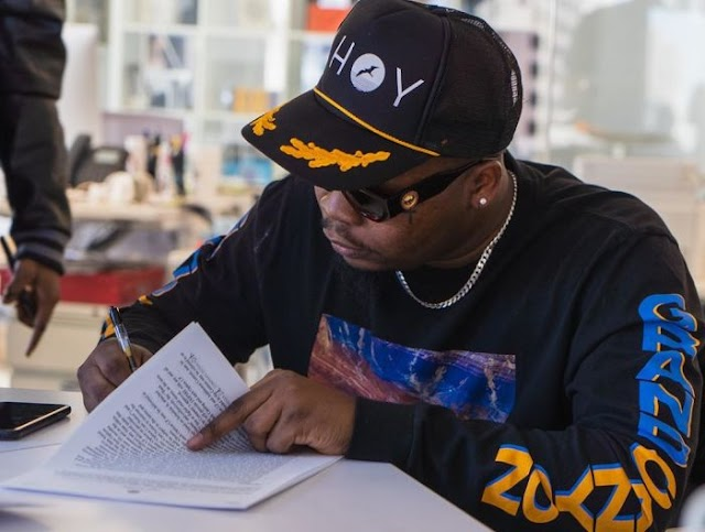 Olamide Finally Going Worldwide As He Signs An International Record Deal With Empire (SEE PHOTOS)