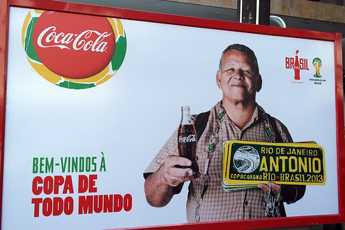 Welcome to Everybody's Cup - Coca-Cola - 2014 Fifa World Cup Rio de Janeiro 2 by roitberg