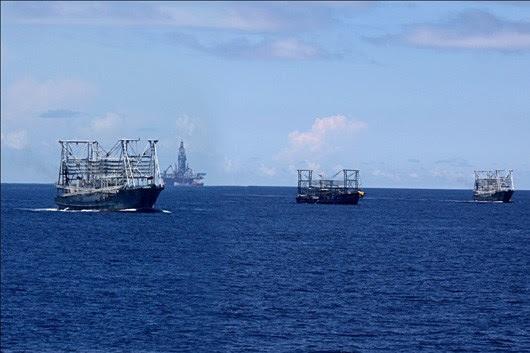 Trung Quốc, giàn khoan, đường lưỡi bò, Hải Dương 981, dầu khí, chủ quyền, Mỹ, Philippines, CNOOC, Biển Đông