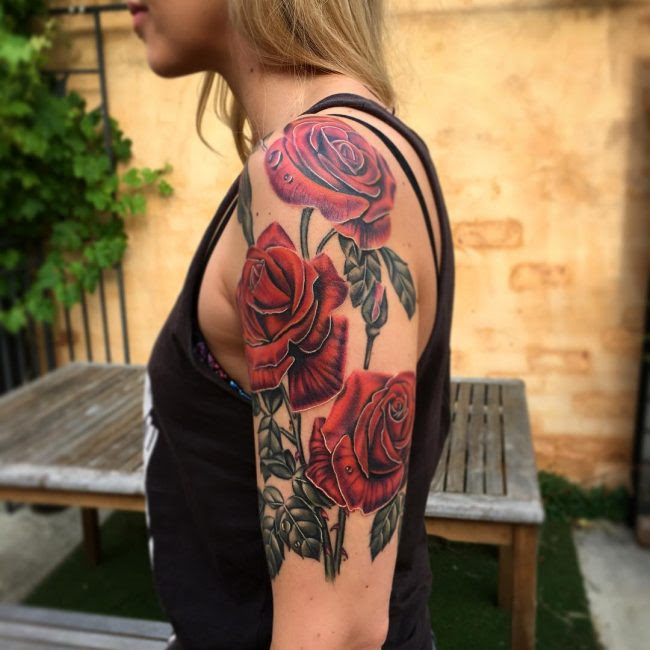90 Best Shoulder Tattoo Designs Meanings Symbols Of Beauty 2018