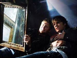 Sam and Dean Winchester try to ward off Bloody Mary in 'Supernatural'.