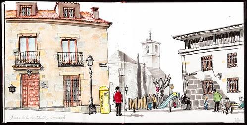 Plaza de la Constitución by aidibus