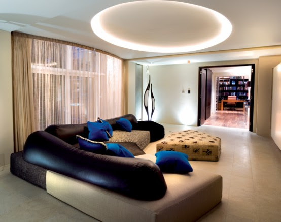 Modern Glamorous Interior Design by SHH | DigsDigs