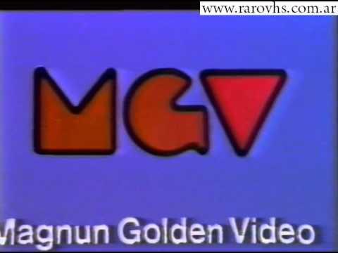 Magnum Golden Video mgv editora vhs