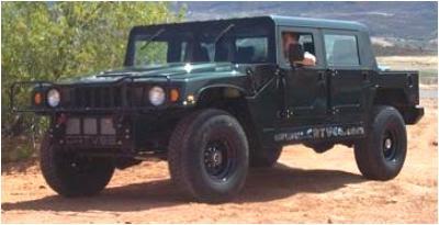 Canadian All-Terrain Vehicles CATVee Hummer 4 door