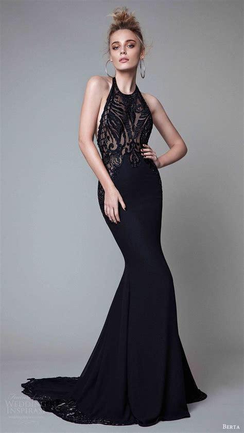 ideas  black evening dresses  pinterest