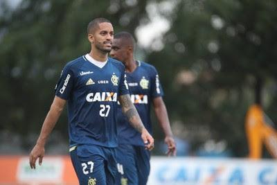 Romulo Flamengo treino (Foto: Gilvan de Souza / Flamengo)