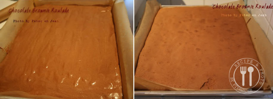 Fold a quarter of the egg whites into the chocolate mixture, then lightly fold in the rest.