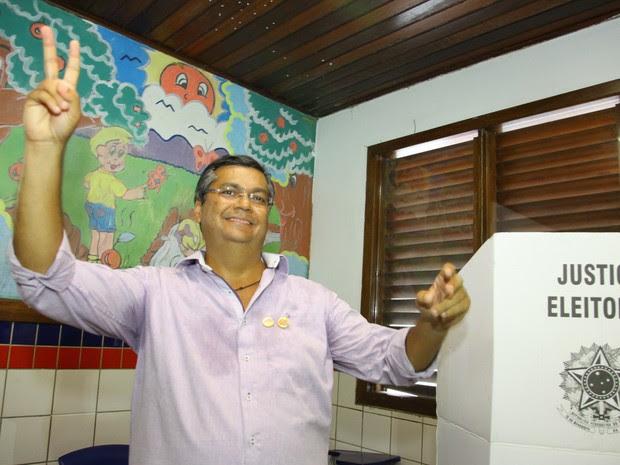 Ex-juiz federal, Flávio Dino foi eleito neste domingo o novo governador do Maranhão (Foto: Biné Morais/O Estado)