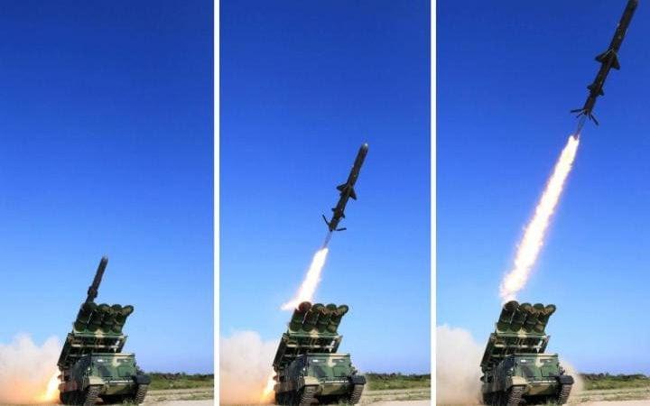 North Koreanground-to-sea cruise rocket
