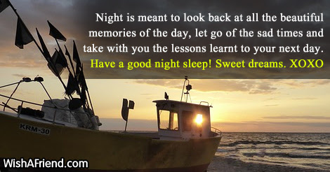 Good Night Poem For Her